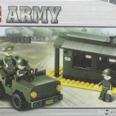 Reproducciones Figuras de Acción: JUGUETE, SLUBAN, ARMY, REF. B6100, PARA MONTAR. Lote 276407938