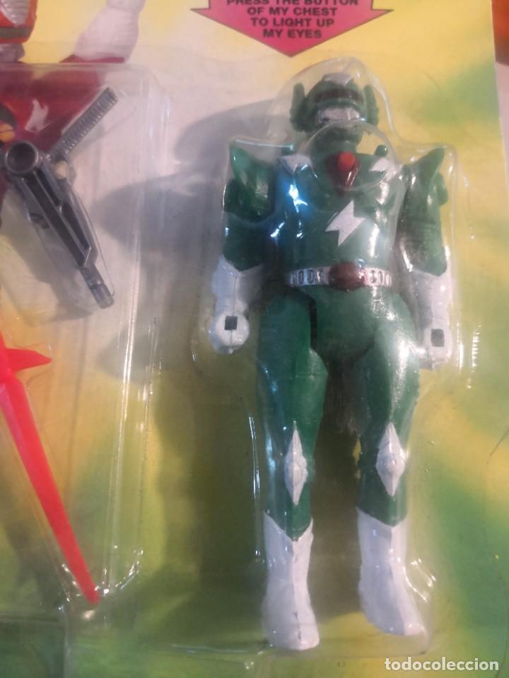 Reproducciones Figuras de Acción: Blister Super robotic warriors replica power rangers - Foto 2 - 278936388