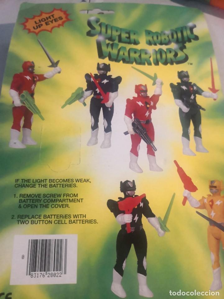 Reproducciones Figuras de Acción: Blister Super robotic warriors replica power rangers - Foto 3 - 278936388