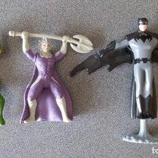 Reproducciones Figuras de Acción: LOTE MUÑECOS AQUAMAN BATMAN BURGUER KING. Lote 282054138