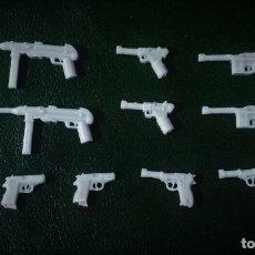 Reproducciones Figuras de Acción: LOTE DE ARMAS WWII ALEMANIA COMPATIBLES GUNS CUSTOM PARA JUGAR Y HACER DIORAMAS CON PLAYMOBIL. Lote 288617623