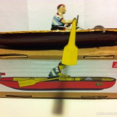 Juguetes antiguos de hojalata: CANOA (PAYÀ). Lote 58881376
