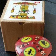 Juguetes antiguos de hojalata: TIOVIVO DE PAYÁ NUEVO EN CAJA. Lote 79541265