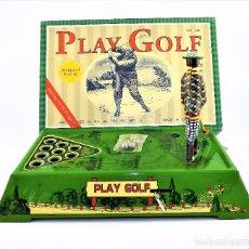Juguetes antiguos de hojalata: JUEGO DE GOLF HOJALATA. Lote 89363500