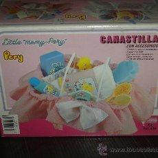 Reproducciones Muñecas Españolas: CANASTILLA DE PERY - BARRAL. CENTRO ESP. DEL JUGUETE - ALICANTE. DESCATALOGADO A ESTRENAR. Lote 26806430