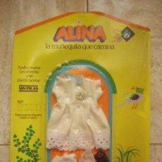 Reproducciones Muñecas Españolas: CONJUNTO PARA MUÑECA ALINA. REF.341. EN SU ESTUCHE.. Lote 43176700
