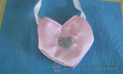 Reproducciones Muñecas Españolas: Precioso bolso de raso rosa para Nancy. - Foto 3 - 39340901