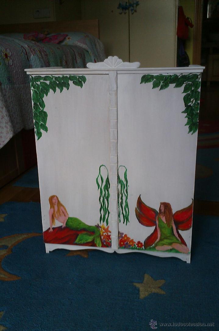 Hago armarios artesanos pintados a mano a medi comprar - Armarios pintados a mano ...