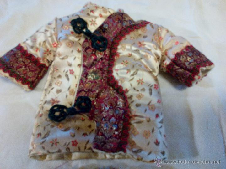 Reproducciones Muñecas Españolas: Precioso traje de geisha para nancy. pantalón,chaquetilla y zapatos todo hecho en seda.Precioso. - Foto 5 - 49047476