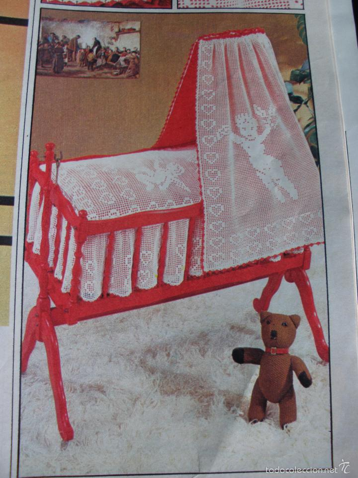 bello patrón para cuna de bebé o muñecas a punt - Comprar ...