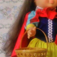 Reproducciones Muñecas Españolas: BONITO BOLSO CESTO DE MIMBRE PARA NANCY,IDEAL PARA CONJUNTO PRIMAVERA O BLANCA NIEVES. Lote 179120845