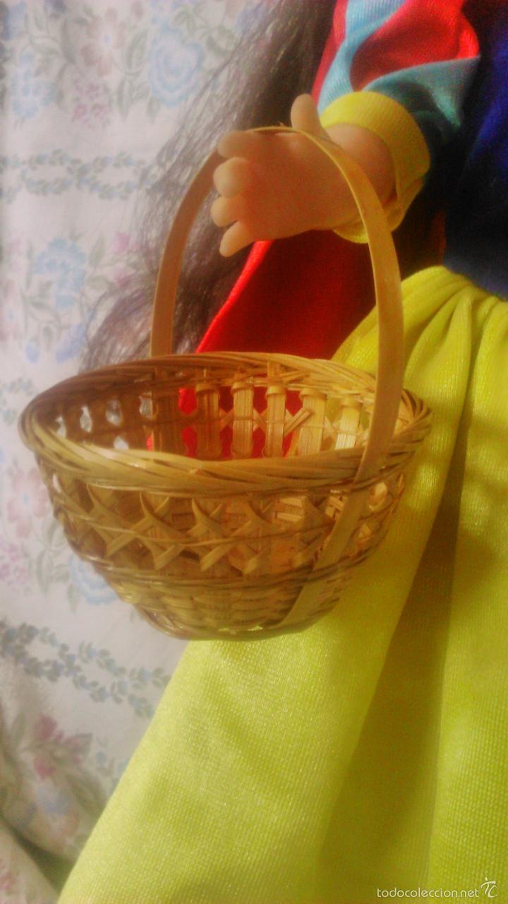 Reproducciones Muñecas Españolas: Bonito bolso cesto de mimbre para Nancy,ideal para conjunto primavera o blanca nieves - Foto 3 - 171498448
