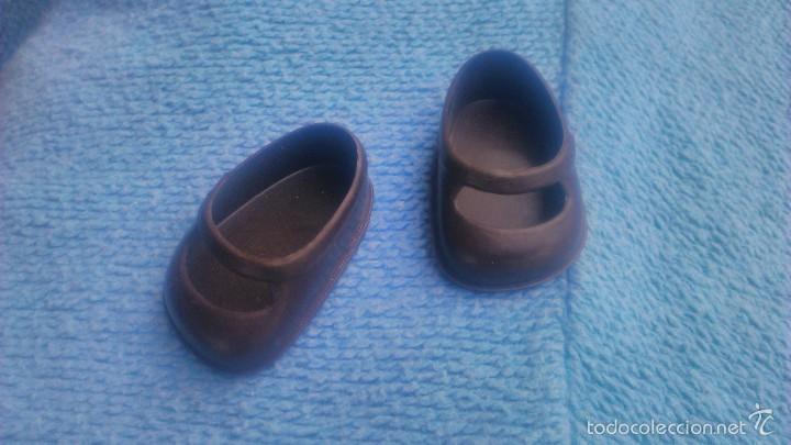 Reproducciones Muñecas Españolas: zapatos para muñeca cuca de famosa, marrón reproducción. - Foto 2 - 105233818