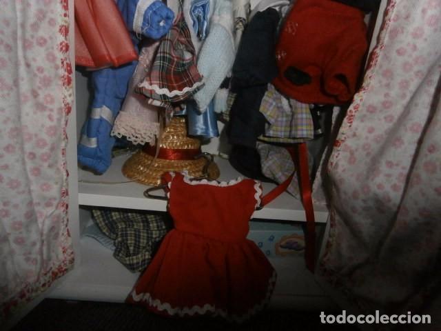 Reproducciones Muñecas Españolas: Armario para Mariquita perez y ropita. - Foto 3 - 65686362