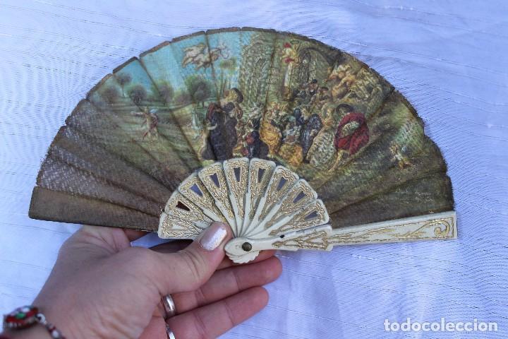 Reproducciones Muñecas Españolas: ABANICO PARA MUÑECA O NIÑA 12 CM - Foto 3 - 218897063