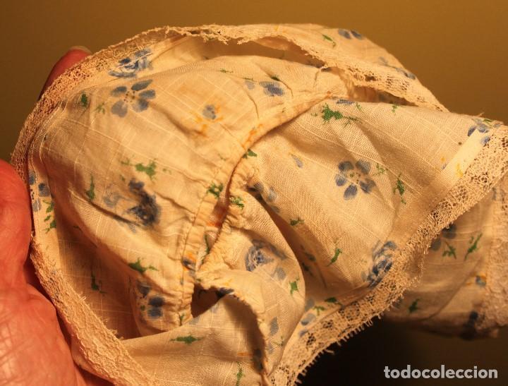 Reproducciones Muñecas Españolas: Vestido antiguo de rosas azules para Nancy - Foto 3 - 138051238