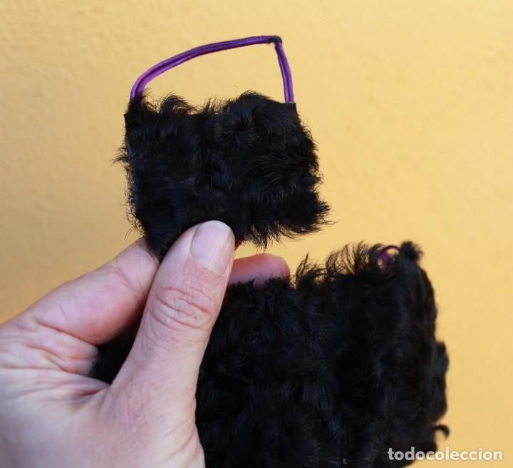 Reproducciones Muñecas Españolas: ¡Estola y bolso de piel de astracán para Nancy! - Foto 2 - 152646994