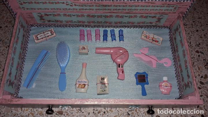 Reproducciones Muñecas Españolas: CUNA MUñECA DE MADERA ESTILO BARROCO, JUGUETE ARTESANO, MUñECA ACTUAL - Foto 20 - 145121322