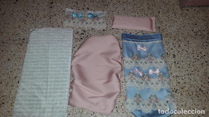 Reproducciones Muñecas Españolas: CUNA MUñECA DE MADERA ESTILO BARROCO, JUGUETE ARTESANO, MUñECA ACTUAL - Foto 36 - 145121322