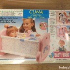 Reproducciones Muñecas Españolas: CUNA. BABY FEBER. 1989. Lote 148997530