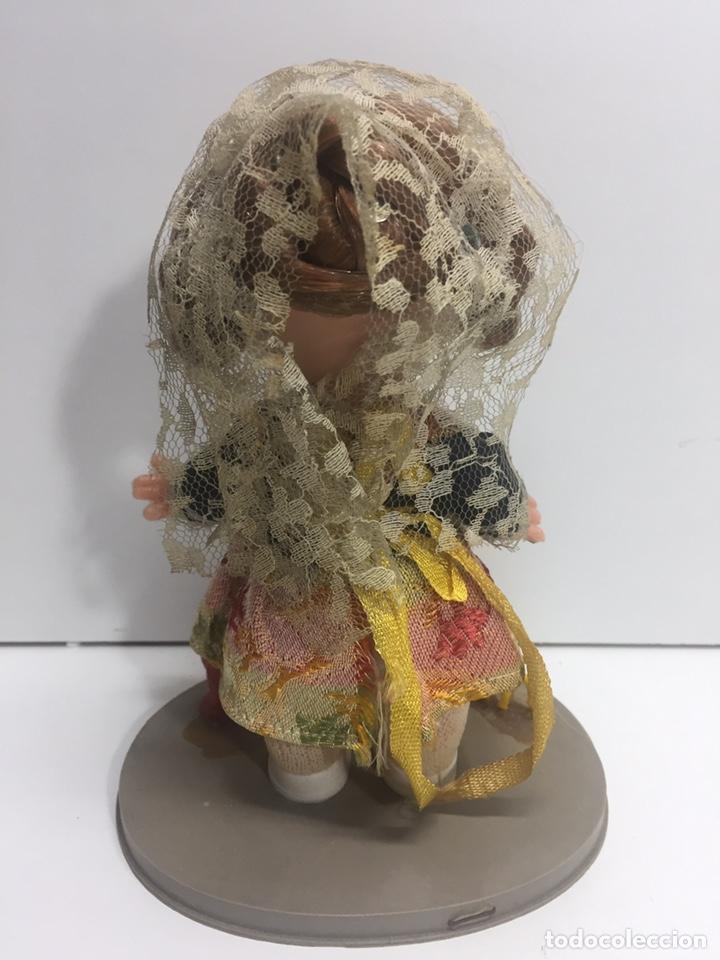 Reproducciones Muñecas Españolas: Muñeca de plástico gallera valenciana 17x10cm - Foto 2 - 178910678