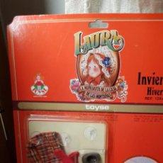 Reproductions Poupées Espagnoles: VESTIDO DE INVIERNO DE LAURA DE TOYSE. Lote 193816262