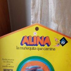 Reproducciones Muñecas Españolas: VESTIDO MUÑECA ALINA, LA MUÑEQUITA QUE CAMINA DE BEBE. Lote 207050998