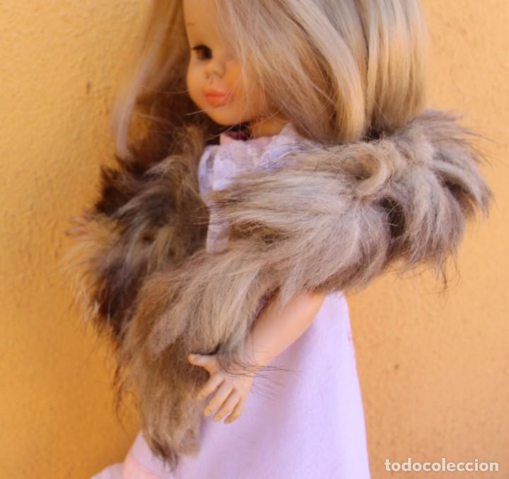 Reproducciones Muñecas Españolas: Estola de cola de zorro auténtico para Nancy - Foto 3 - 155255042