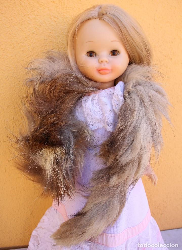 Reproducciones Muñecas Españolas: Estola de cola de zorro auténtico para Nancy - Foto 4 - 155255042