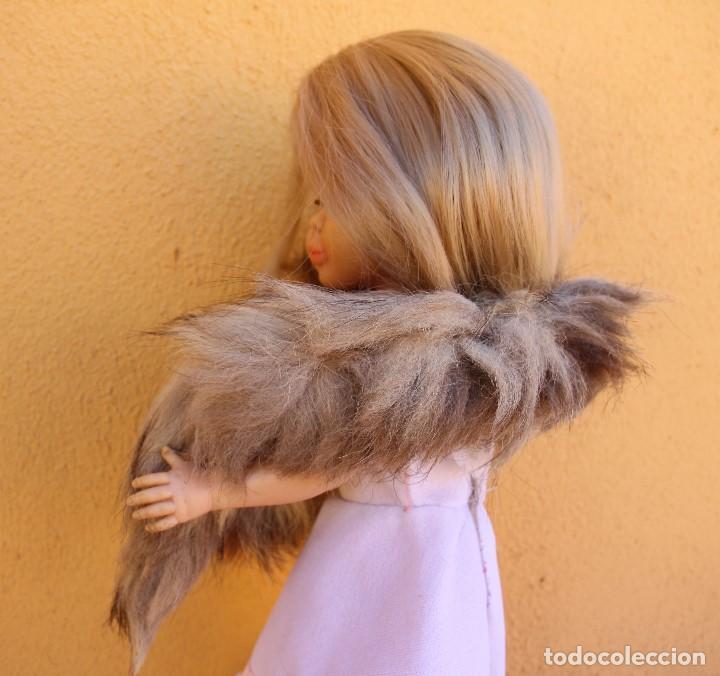Reproducciones Muñecas Españolas: Estola de cola de zorro auténtico para Nancy - Foto 5 - 155255042