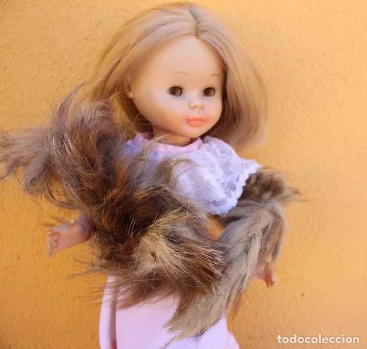Reproducciones Muñecas Españolas: Estola de cola de zorro auténtico para Nancy - Foto 6 - 155255042