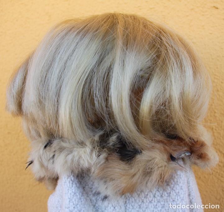 Reproducciones Muñecas Españolas: Boa de piel de conejo auténtico para Nancy / Leslie - Foto 6 - 156273818