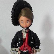 Reproduções Bonecas Espanholas: MUÑECO ARTESANO TRAJE REGIONAL BEIBI.. Lote 169385500