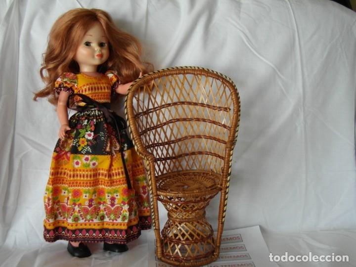 Reproducciones Muñecas Españolas: Bonito Sillon de mimbre para poder lucir a tus preciosas niñas.(sillón para muñecas) - Foto 5 - 172129845