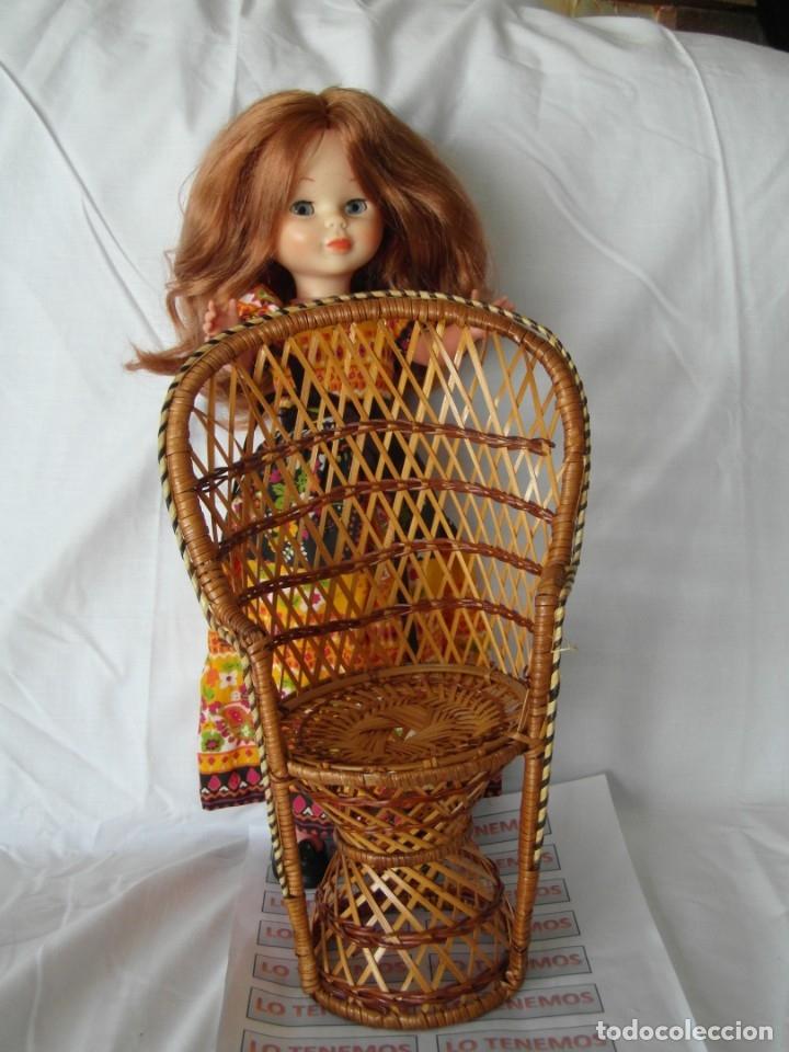 Reproducciones Muñecas Españolas: Bonito Sillon de mimbre para poder lucir a tus preciosas niñas.(sillón para muñecas) - Foto 6 - 172129845