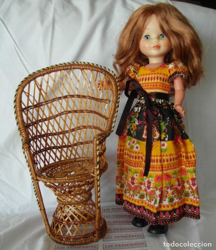 Reproducciones Muñecas Españolas: Bonito Sillon de mimbre para poder lucir a tus preciosas niñas.(sillón para muñecas) - Foto 7 - 172129845