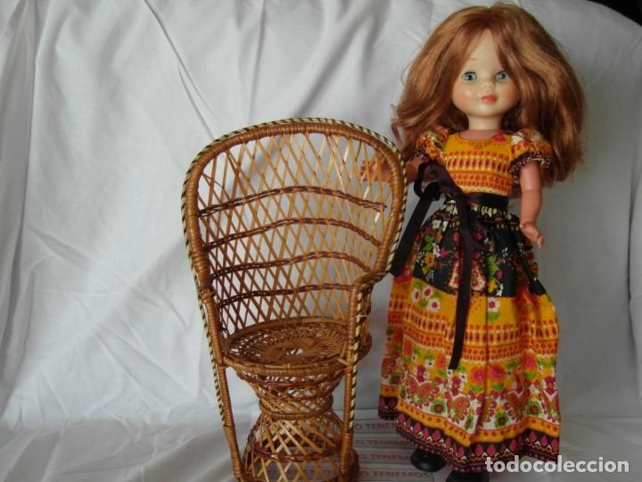 Reproducciones Muñecas Españolas: Bonito Sillon de mimbre para poder lucir a tus preciosas niñas.(sillón para muñecas) - Foto 8 - 172129845