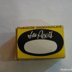 Reproducciones Muñecas Españolas: CAJA PAÑUELOS DESMAQUILLAJE DE LA SEÑORITA PEPIS. Lote 192840015