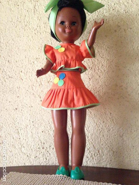 CONJUNTO CUBANA (RÉPLICA ) PARA MUÑECA NANCY (Juguetes - Reproducciones Vestidos y Accesorios Muñeca Española Moderna)