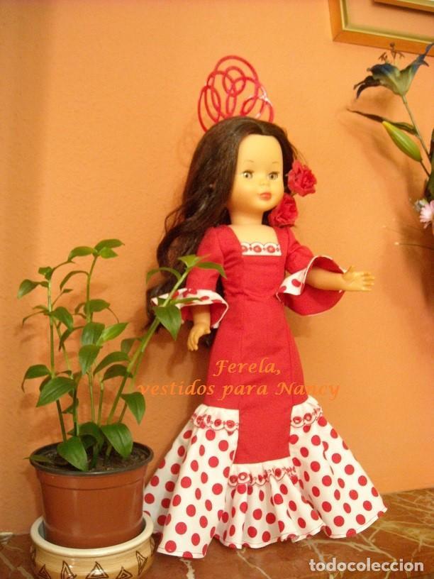 Reproducciones Muñecas Españolas: VESTIDO DE FLAMENCA PARA NANCY - Foto 2 - 204975341