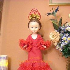 Reproducciones Muñecas Españolas: VESTIDO DE FLAMENCA PARA NANCY. Lote 204975787