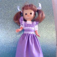 Reproduções Bonecas Espanholas: LESLY : REPLICA DE DIFÍCIL CONJUNTO LILA. Lote 227093410