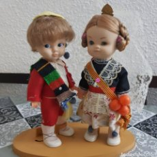 Reproducciones Muñecas Españolas: PAREJA DE VALENCIANOS REGIONAL MUÑECAS FAMOSA. Lote 232768045