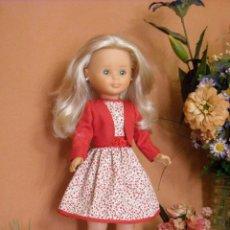 Reproduções Bonecas Espanholas: VESTIDO Y CHAQUETA PARA NANCY. Lote 253243480
