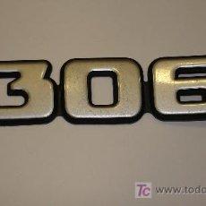 Coches y Motocicletas: LOGOTIPO DE PEUGEOT 306. Lote 8488771