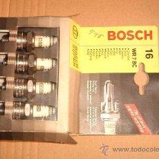 Coches y Motocicletas: JUEGO BUJIAS BOSCH WR7BC NUEVAS. Lote 26981796