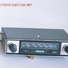 Coches y Motocicletas: RADIO DE COCHE, MARCA PHILIPS. Lote 26071366