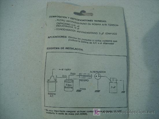 Coches y Motocicletas: CONJUNTO ANTIPARASITARIO MARCA BEFEL - Foto 2 - 117400703