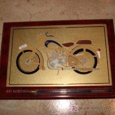 Coches y Motocicletas: PLACA DECORATIVA DE PEUGEOT 125. Lote 18445490