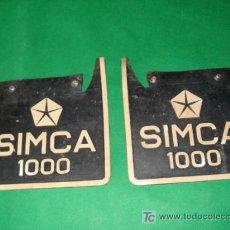 Coches y Motocicletas: GOMAS RUEDAS SIMCA 1000. Lote 19681284
